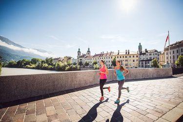 Laufen, Jogging in Innsbruck