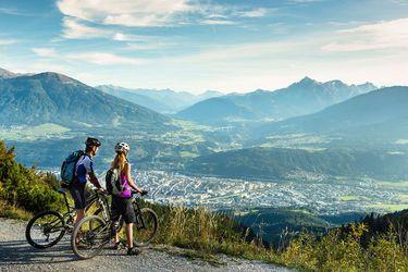 Radfahren, Mountainbiken in Innsbruck